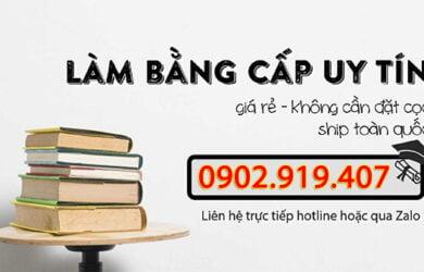 Dịch vụ làm bằng THPT cấp 3 tại Đà Nẵng
